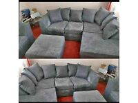 ✨Free Shipping All Over Uk ✨Super Quality Brand New Dylan Corner Sofa Available In Lowest Price