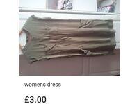 Womens green dress size 12