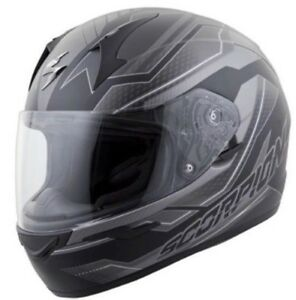 Scorpion Exo-r410 airline motorcycle helmet. New
