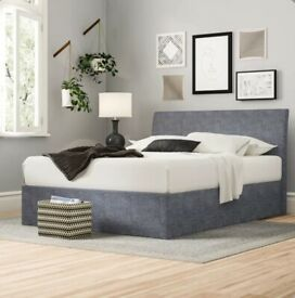 Clarissa Upholstered Ottoman Bed Frame SUPERKING Selling at £250 brand new boxed