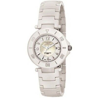 New invicta 3936 Ceramic Porcelain/MOP/35MM/ Sapphire/only 1 On Ebay