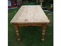 Solid Farmhouse, Pine Table