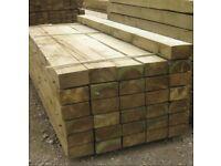 Soft wood sleepers new
