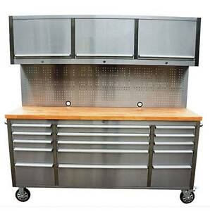 Latest Design in Garage Workbench Tool Chest Trolley Lidcombe Auburn Area Preview