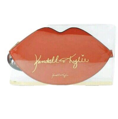 Kendall & Kylie Jenna Red Lips Womens Patent Bum Bag Waist Bag With Belt Gift