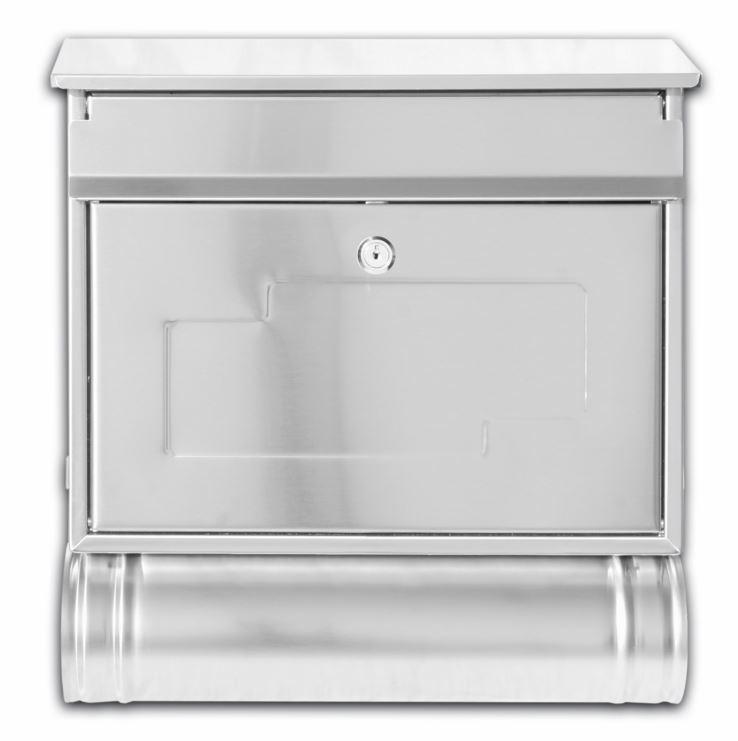 gro edelstahl briefkasten din b4 eur 65 00 picclick de. Black Bedroom Furniture Sets. Home Design Ideas