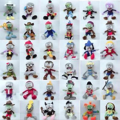 Plants vs Zombies PVZ Figures Plush Baby Staff Toy Stuffed Soft Dolls 20cm-30cm