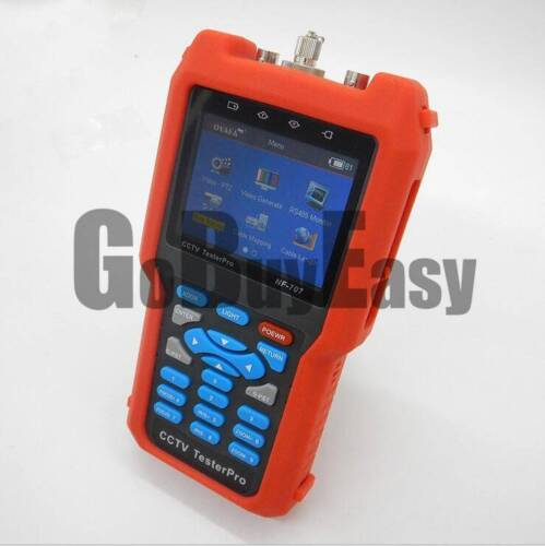 Pro CCTV Cable Tester Analog CVBS Signal RJ45 BNC and Metal Cable Length NF-707