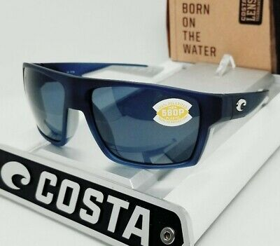 COSTA DEL MAR bahama blue fade/gray BLOKE POLARIZED 580P sunglasses! NEW IN (Bahama Sunglasses)