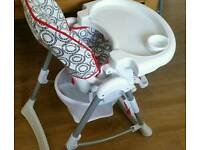 High chair - Redkite ultimo