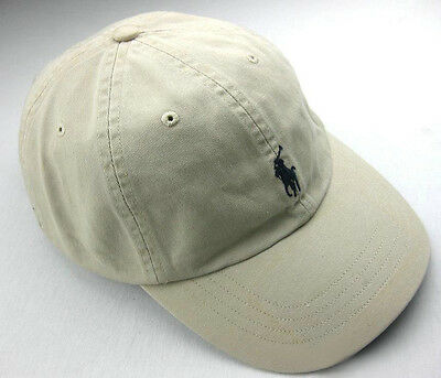 Polo Ralph Lauren Baseball Hats Cap Pony Logo One Size Adjustable,NWT_Khaki