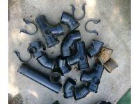 Black Soil pipe fittings all new.