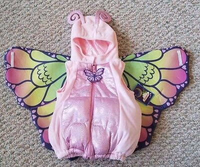 Infant Butterfly Dress (Butterfly Infant Dream Play Imagine Plush Pink Dress-Up Costume Size 6-9 Months)