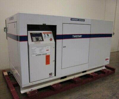 Gardner Denver Twistair Ewdqjb 50hp Rotary Screw Compressor 238 Cfm 100psig