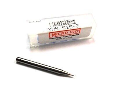 Micro 100 Carbide Ball End Mill 0.010 2fl 0.030 X 1-12 Bmr-010-2