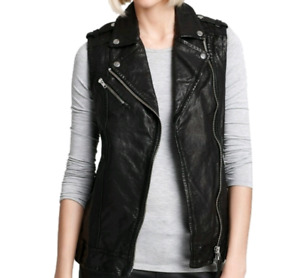 BRAND NEW WITH TAGS MACKAGE LEATHER VEST SMALL PAID $500! CHEAP