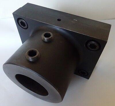 2a Warner Swasey Short Flanged Adjustable Tool Holder 3 Bore Size