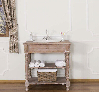 MOBILE BAGNO DESIGN PROVENZALE IMPERIALE SHABBY CHIC VINTAGE INDUSTRIALE CASA