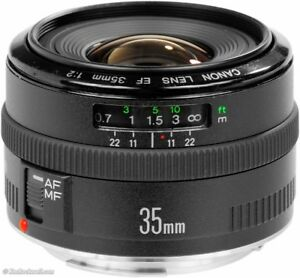 Canon EF 35mm F2 lens
