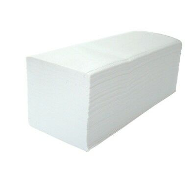 White 2 Ply Paper Hand Towels V Fold Interleaved Eco friendly Recycled Business Eco Friendly Paper Towels