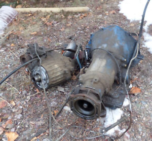 Automatic transmission and transfer case