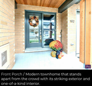 OPEN HOUSE OCT 20 Modern townhome for sale in Riverside South