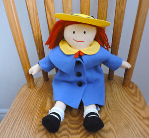 "18"" Madeline Doll with lots of clothes"