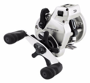 Daiwa Accudepth Plus-B Line Walleye Special Levelwind Fishing Re