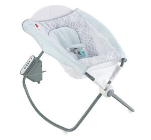 Fisher-Price Newborn Auto Rock N Play Seat - Waterscape