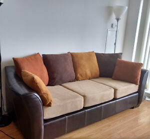 Totally Washable Sofa-bed from the Brick for $1300+tax!