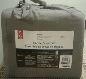 Brand New Double Size Flannel Sheet Set.