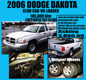 2006 Dodge Dakota club cab Pickup Truck