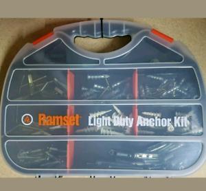 Ramset 120 piece Light Duty Anchor Kit.Brand new.