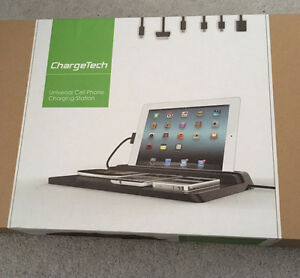 Brand New ChargeTech iPad and Cellphone Charging Station
