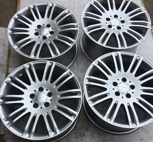 OEM MERCEDES BENZ MAGS 18 POUCES STAGGERED ORIGINALE