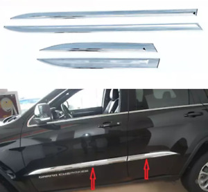 BANDES ABS CHROME GRAND CHEROKEE FIT 2014 À 2019