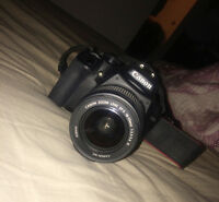 $500 or best offer // Canon EOS Rebel XS (Perfect Condition)