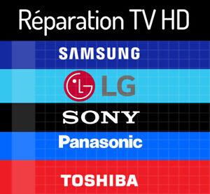 Réparation de téléviseur et électronique