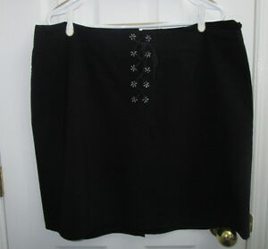 Ladies plus size black skirt by MXM in size 20 *barely worn