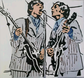 The Beatles Live At Crossley Field 1966 Scroll Saw Art - Exclusive Edi