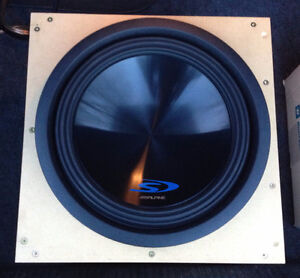 12 inch Alpine Type-S Subwoofer (SWS-12D2) and Sealed Enclosure