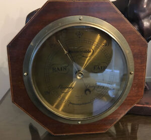 "Changeable Barometer ""Made in England"" by Short & Mason London"