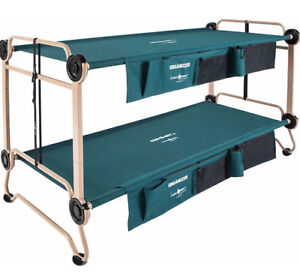 Disc-O-Bed Cot with Side Organizers, XL