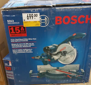 """Bosch 12"""" Mitre Saw & Table Saw with Stand"""