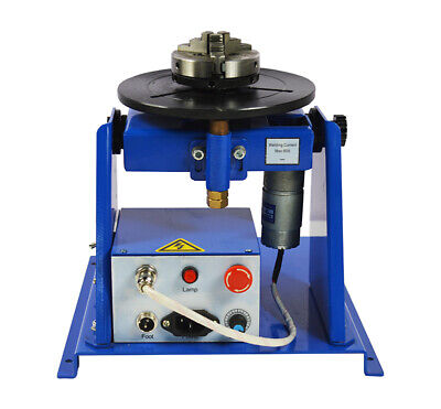 10kg Welding Positioner Turntable With 80mm Chuck Metal Working Manufacturing