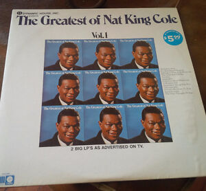 LP. Greatest Hits of Nat King Cole - 2-Record Set