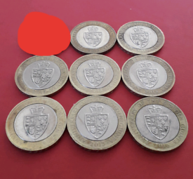 MIX AND MATCH - 2013 Golden Guinea £2 two pounds coin