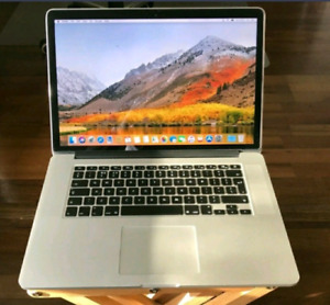 Selling MacBook Pro 15 inch