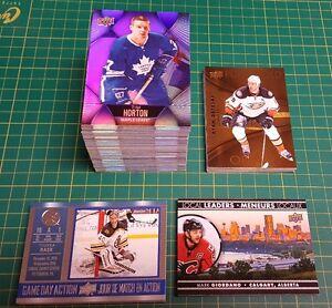 2016 Tim Hortons Hockey Cards Base set + 3 Sub Sets
