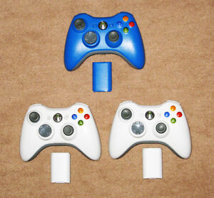 AUTHENTIC WIRELESS XBOX 360 MICROSOFT CONTROLLERS